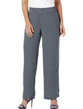 Rafaella Foulard Print Woven Pants