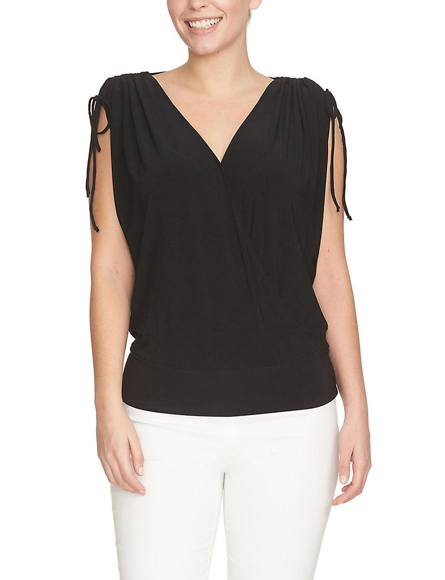 Chaus Black Shirts & Blouses