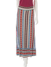 Hannah Mixed Print Maxi Skirt
