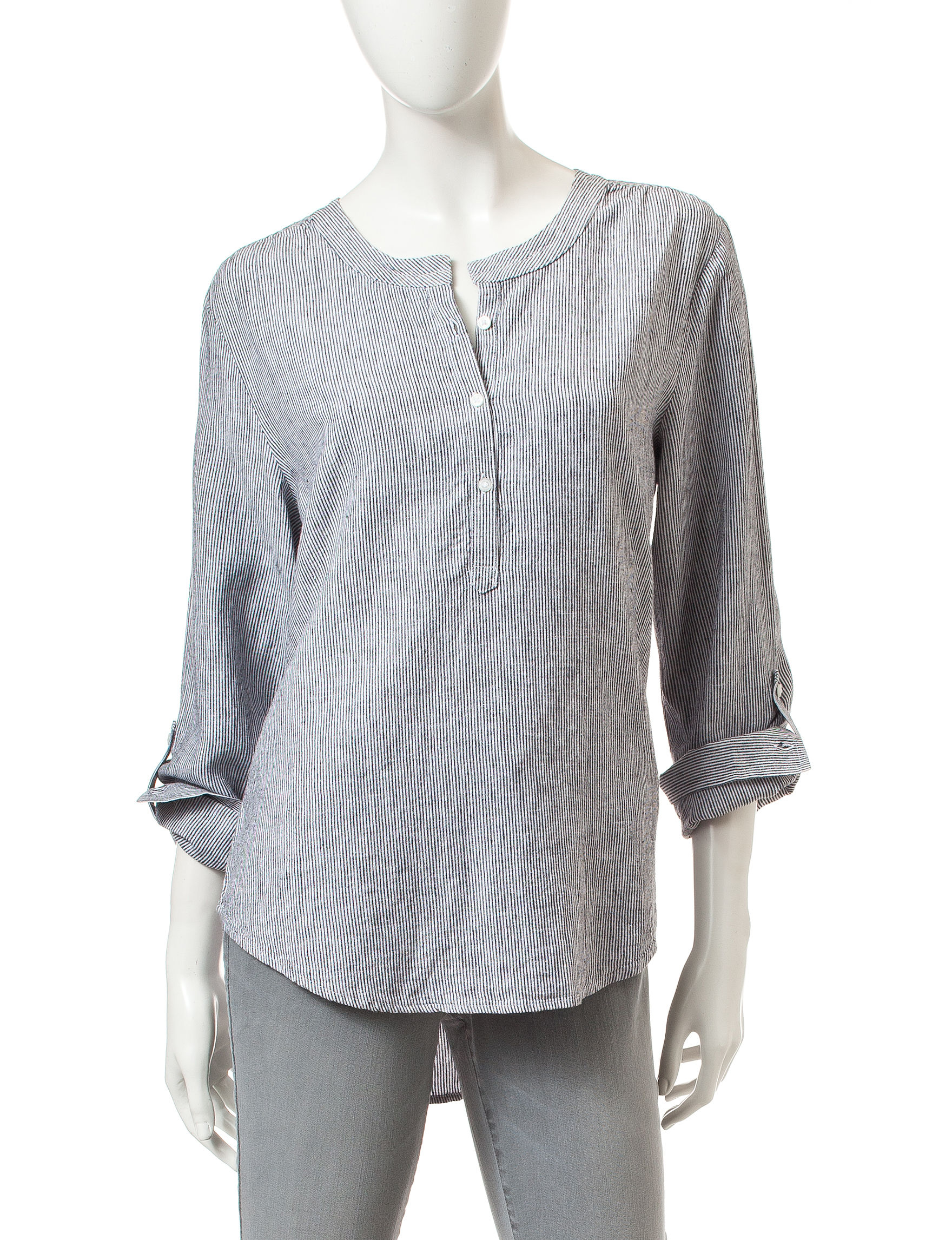 Nine West Jeans Grey Shirts & Blouses