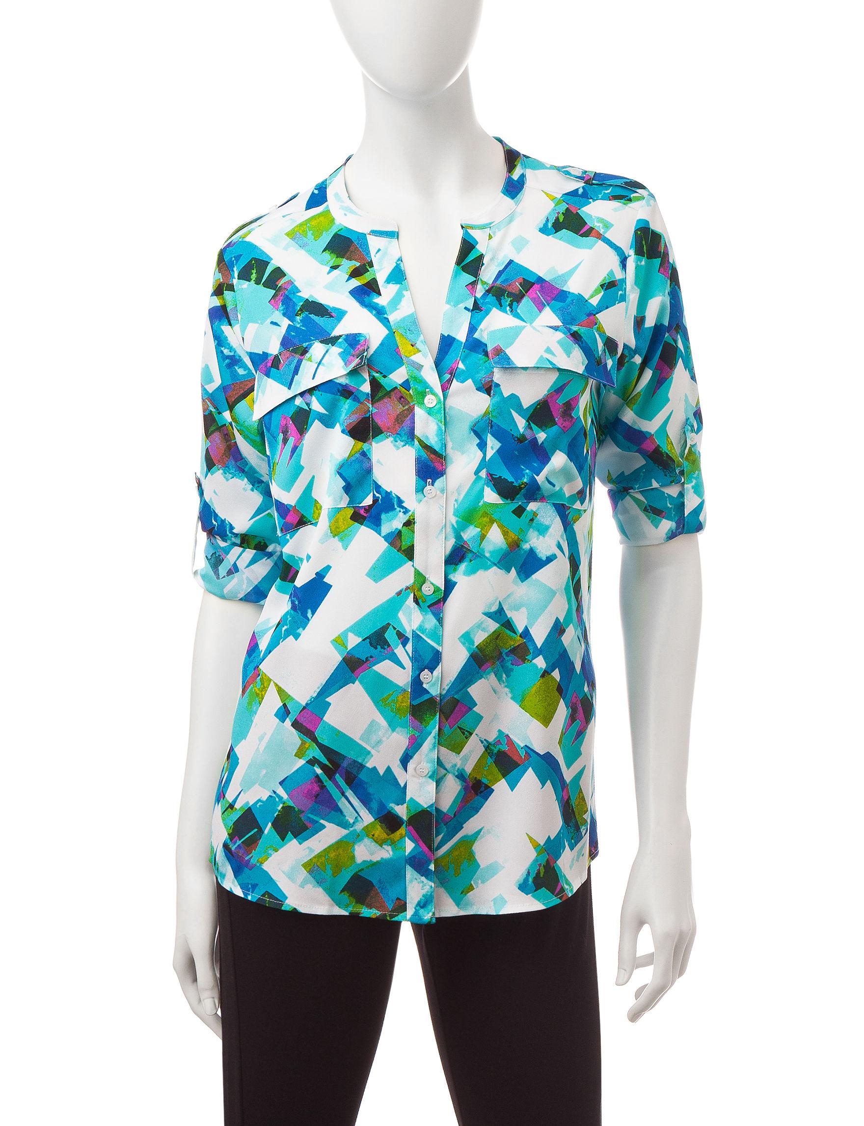 Calvin Klein Green Shirts & Blouses