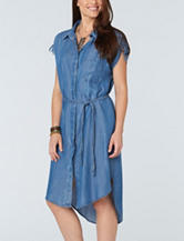 Democracy Chambray Hi-Lo Dress