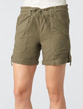 Democracy Gauze Utility Shorts