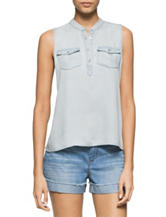 Calvin Klein Jeans Chambray Top