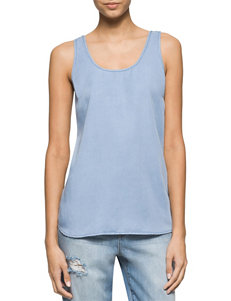 Calvin Klein Jeans Blue Shirts & Blouses