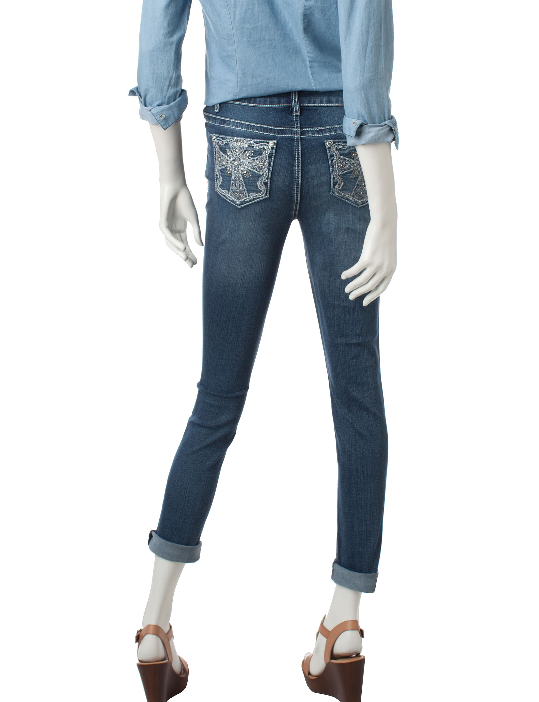 Earl Jean Medium Blue Skinny