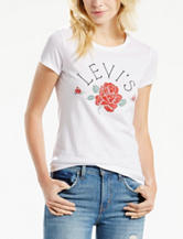 Levi's® Rose Screen Print Knit Top