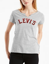 Levi's® Smokestack Plaid Logo Knit Top
