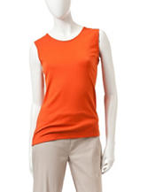 Rebecca Malone Orange Tank Top