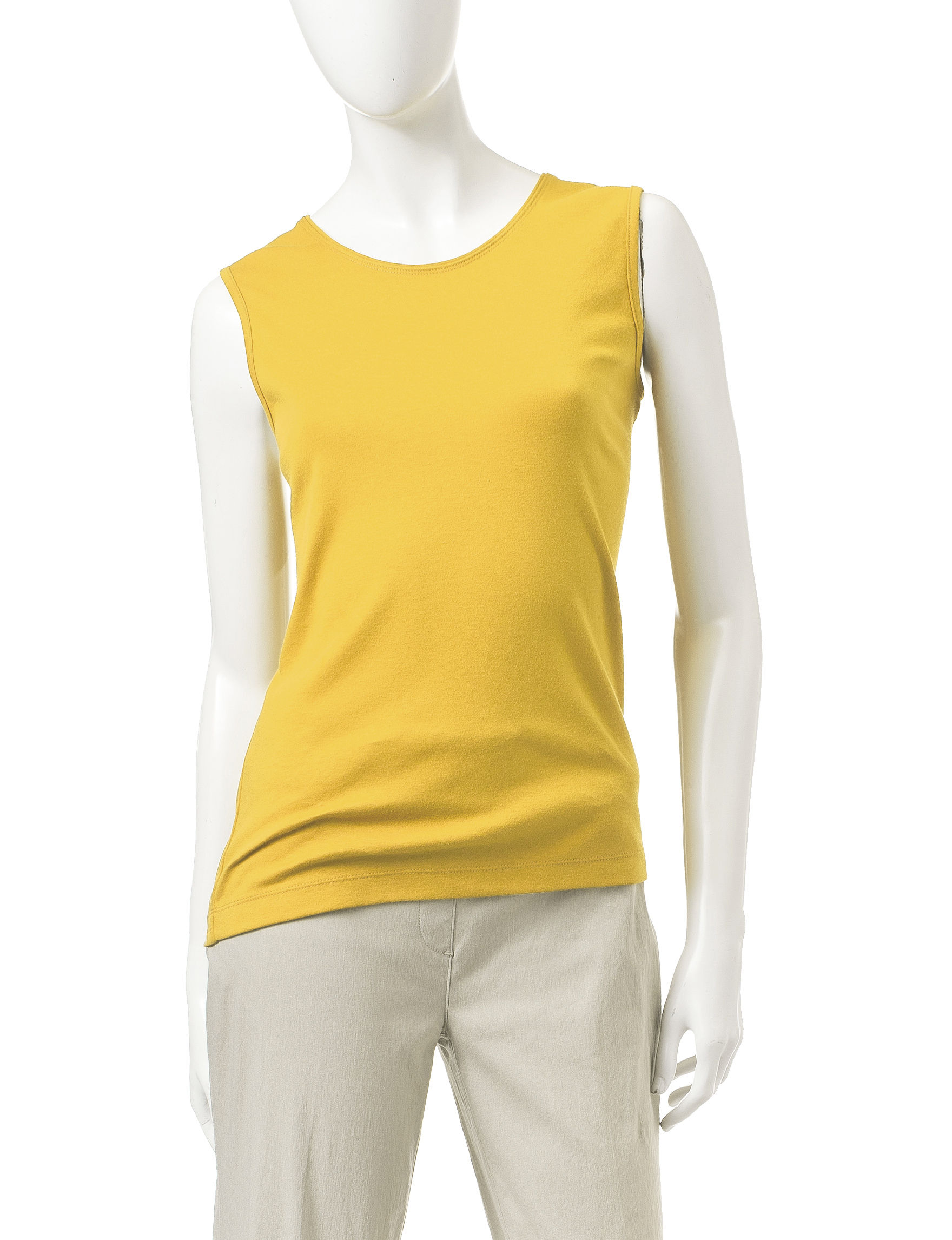 Rebecca Malone Yellow Tees & Tanks