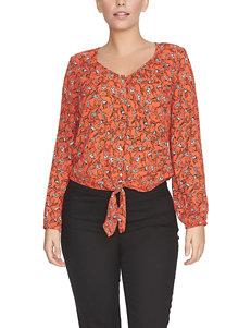 Chaus Orange Shirts & Blouses