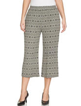 Chaus Tribal Print Wide Leg Pants