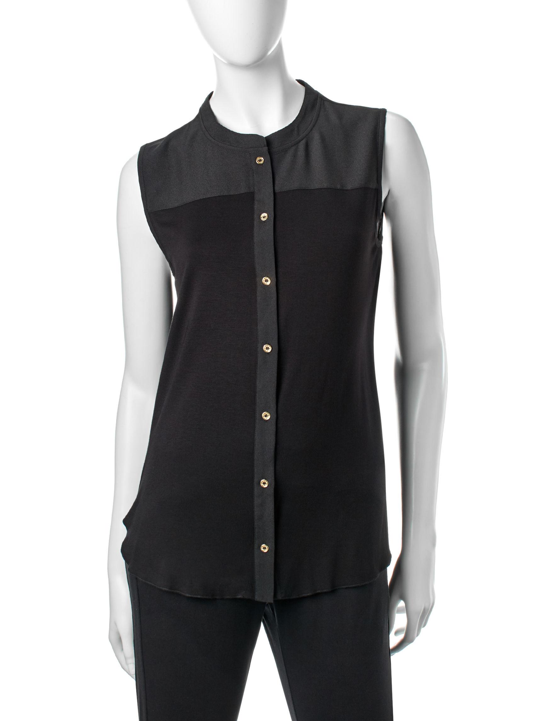 Calvin Klein Black Shirts & Blouses