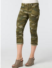 Democracy Cropped Camo Print Pants