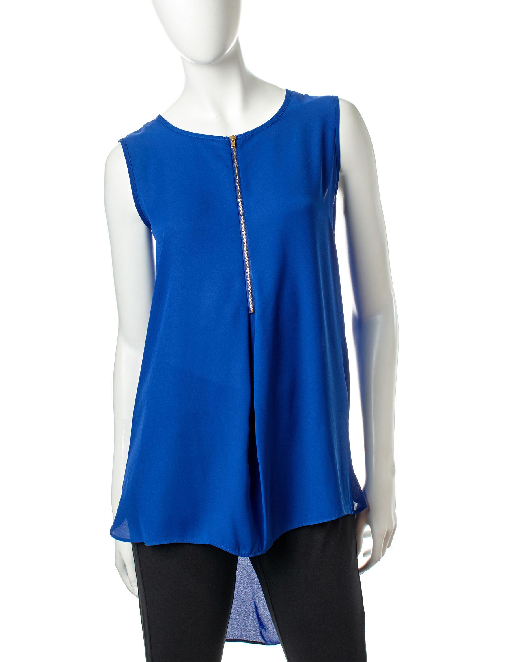 Zac & Rachel Cobalt Shirts & Blouses