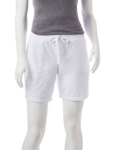 Silverwear White Soft Shorts