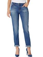 Bandolino Slim Fit Boyfriend Jeans