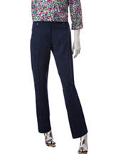 Cathy Daniels Paisley Print Average Length Pants