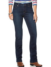 Chaps Bedford Dark Wash Straight Leg Stretch Jeans