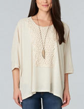 Democracy Crochet Knit Top