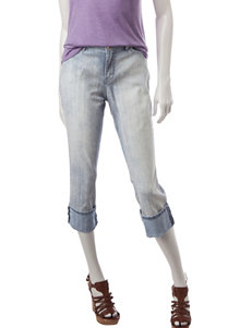 Nine West Jeans Taylor Cuffed Capris