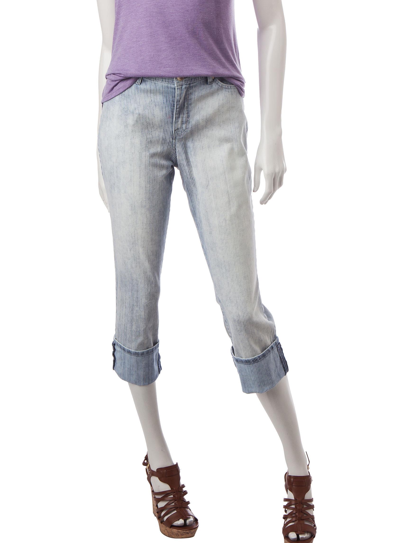 Nine West Jeans Blue Capris & Crops