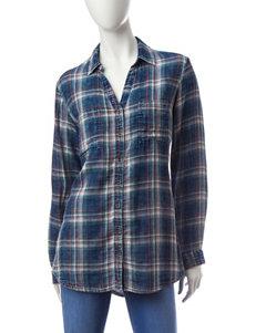 Bandolino Blue Shirts & Blouses
