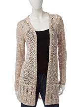 Energé Diamond Knit Cardigan