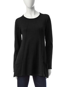 Hannah Sharkbite Tunic Sweater