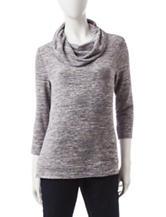 Rebecca Malone Marled Knit Sweater