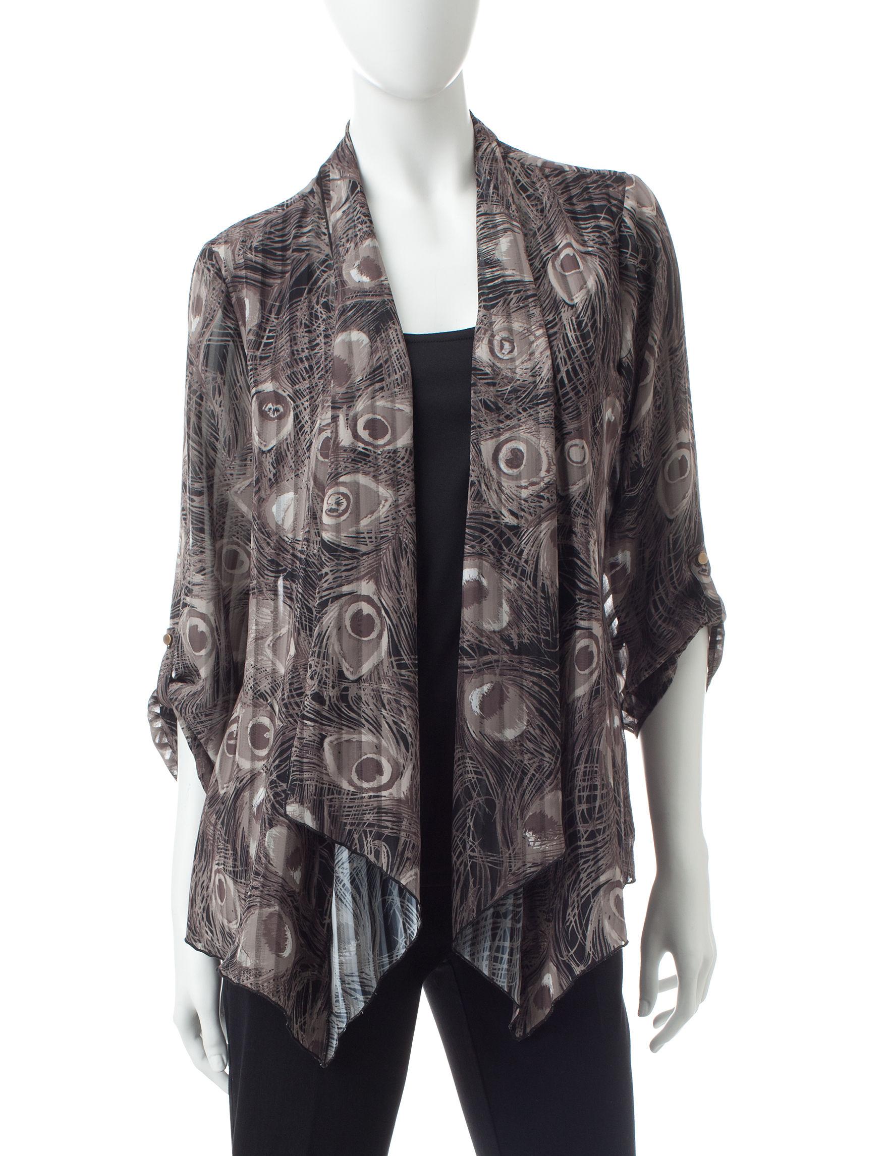 Rebecca Malone Tan / Black Shirts & Blouses
