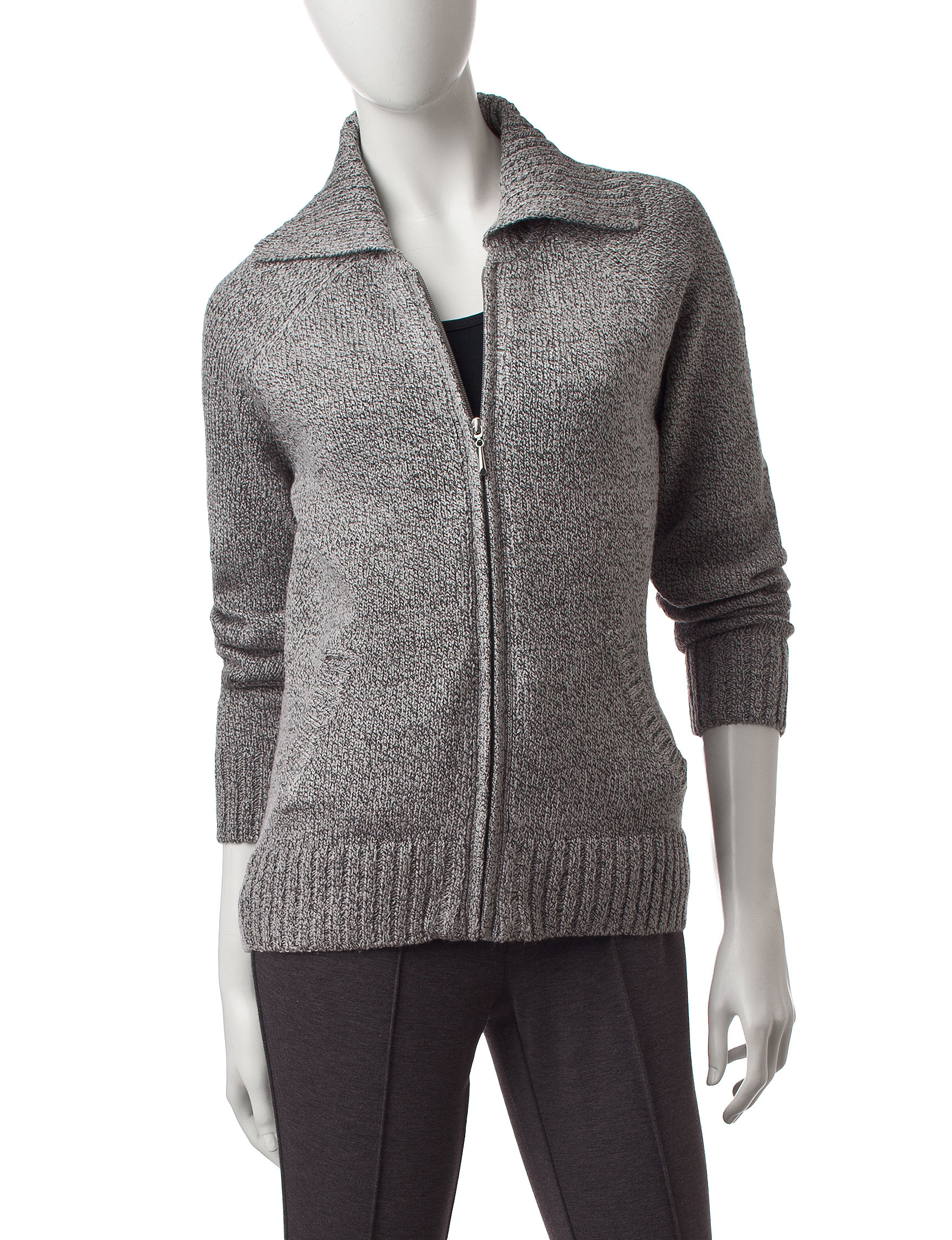 Rebecca Malone Grey Lightweight Jackets & Blazers