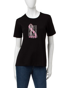 MCcc Sportswear Love Hope Live Cure Breast Cancer Awareness Top