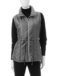 Hannah Iridescent Quilted Vest
