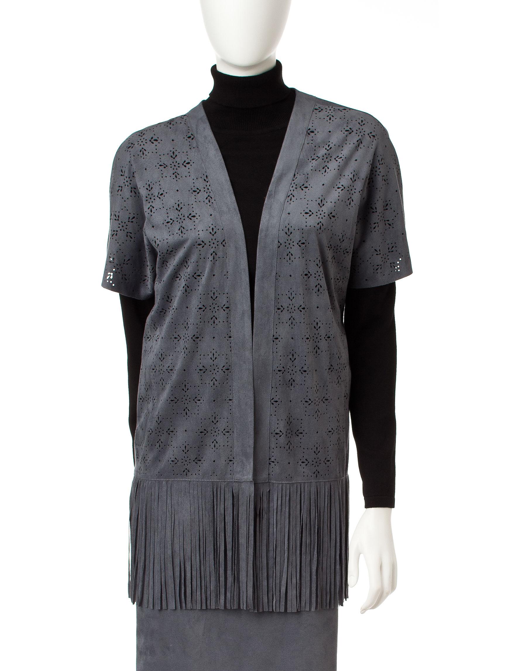 Ruby Road Grey Lightweight Jackets & Blazers