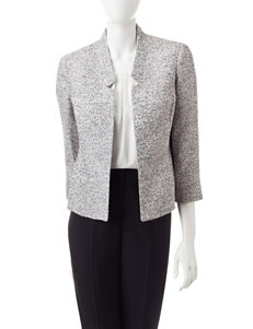 Kasper Heather Grey Tweed Jacket