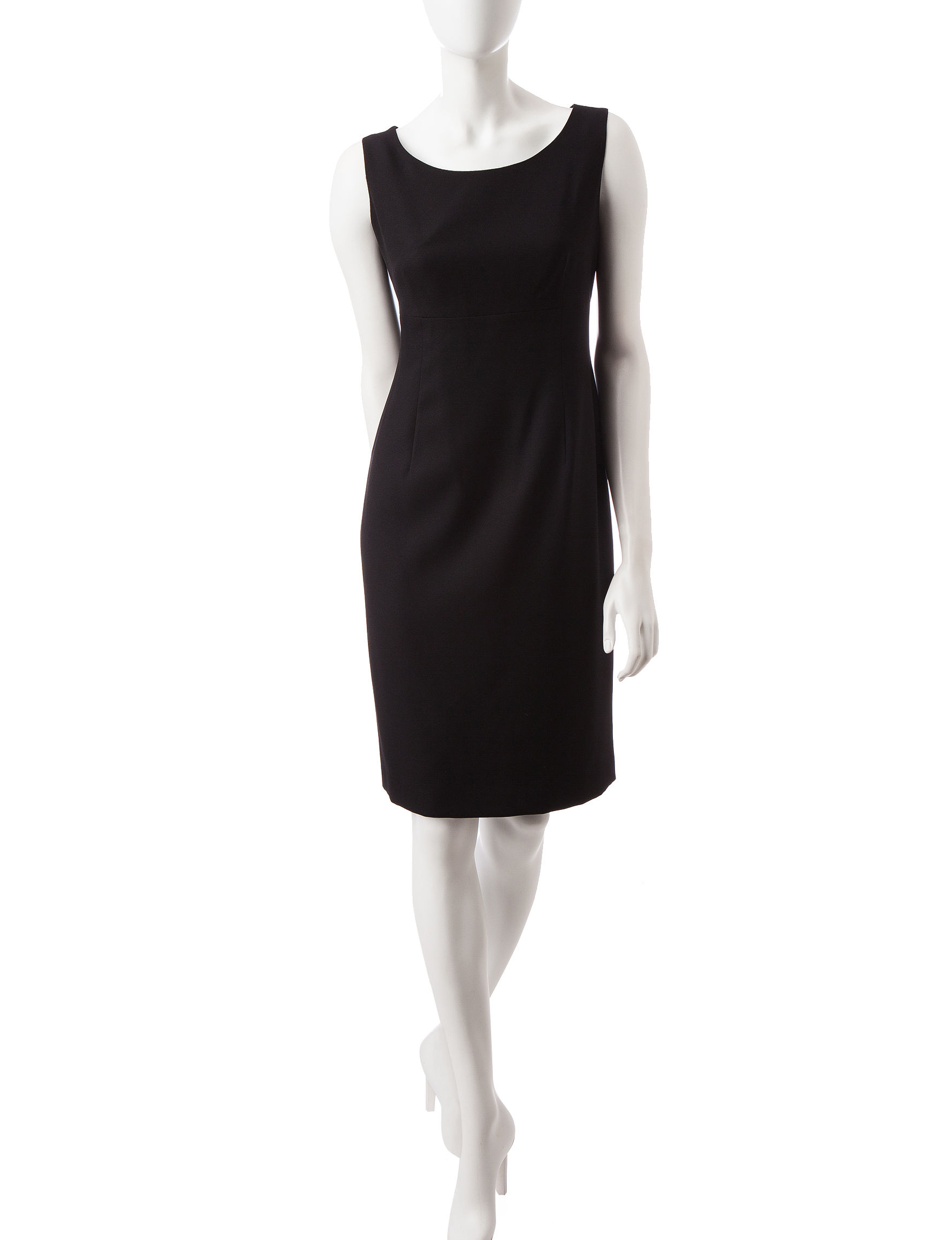 Kasper Black Cocktail & Party Sheath Dresses