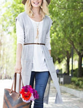 Hannah Belted Sweater Vest