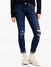 Levi's® 711™ Medium Wash Distressed Skinny Jeans