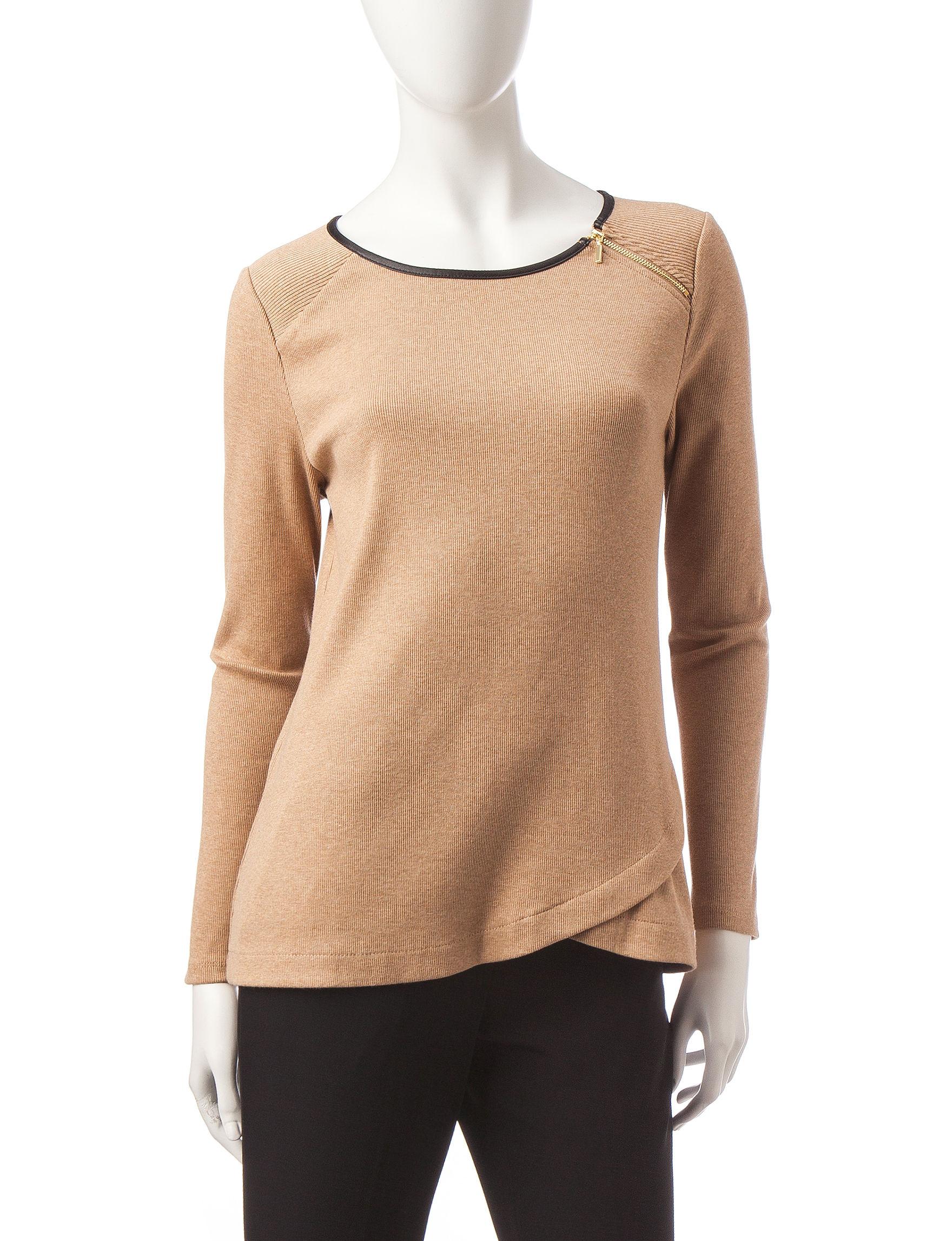 Rafaella Beige Sweaters