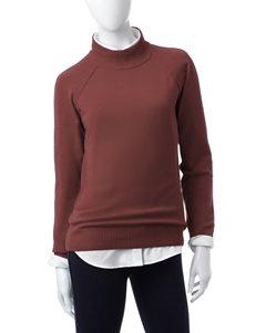 Jeanne Pierre Hazelnut Pull-overs Sweaters