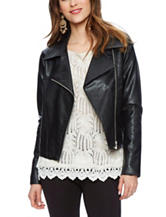 Skyes The Limit Faux Leather Moto Jacket
