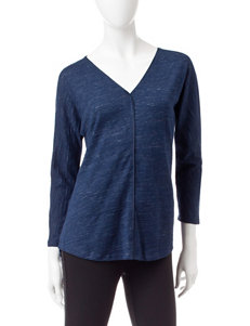 Calvin Klein Jeans Navy Shirts & Blouses