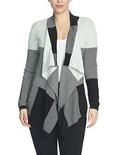 Chaus Color Block Cardigan