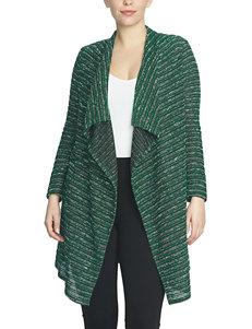 Chaus Emerald Marled Knit Cardigan