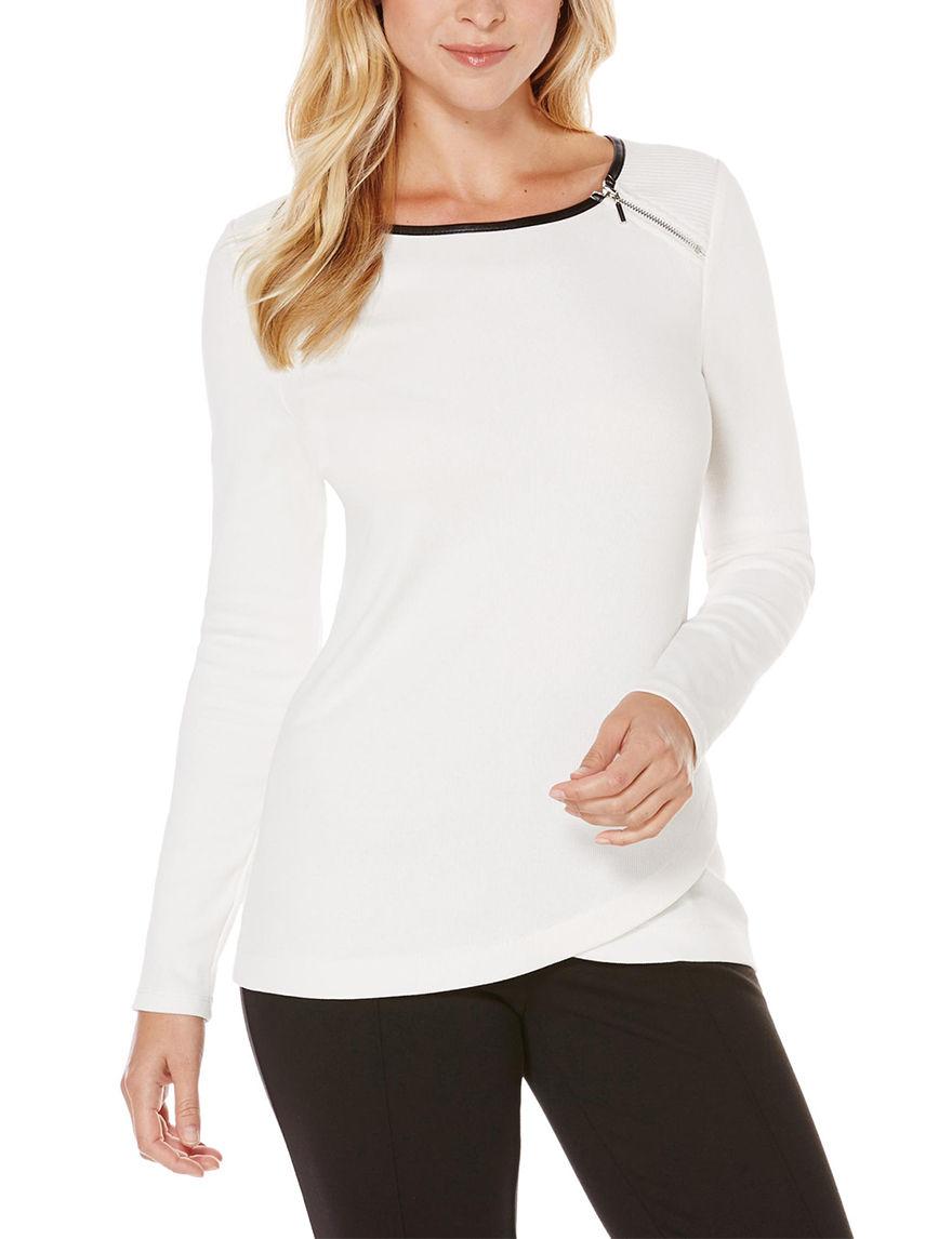 Rafaella Ivory Sweaters