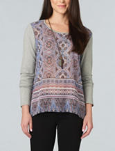 Democracy Kaleidoscope Print Top