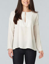 Democracy Studded Woven Top