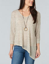 Democracy Asymmetrical Hem Sweater