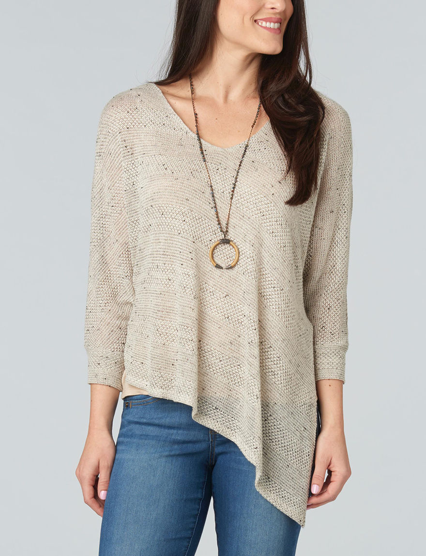 Democracy Grey Everyday & Casual Sweaters Strapless